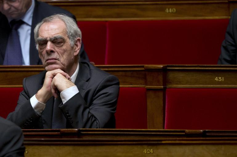 Henri Emmanuelli, le 6 février 2013, à l'Assemblée Nationale. (archives)