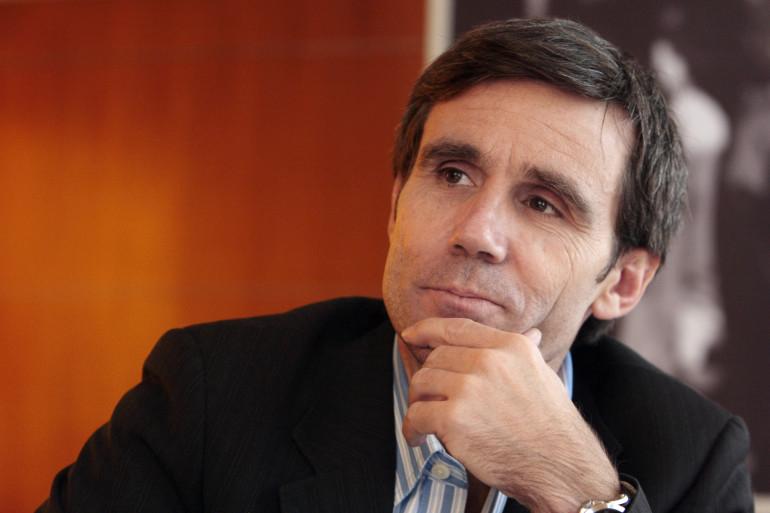 David Pujadas, le 6 février 2009, à Paris.