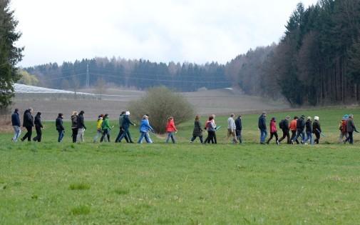 Des randonneurs qui jeûnent à la clinique Buchinger-Wilhelmi près du lac de Constance.