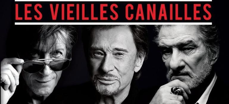 Les vieilles canailles en concert les 5, 6 et 7 novembre à Bercy