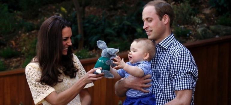 Kate Middleton a accouché du Prince George en juillet 2013.