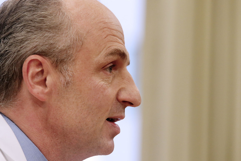 Le docteur Éric Kariger, chef du service de soins palliatifs du CHU de Reims, en charge notamment de Vincent Lambert