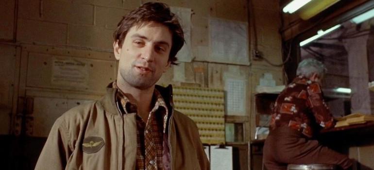 """Robert De Niro dans """"Taxi Driver""""."""