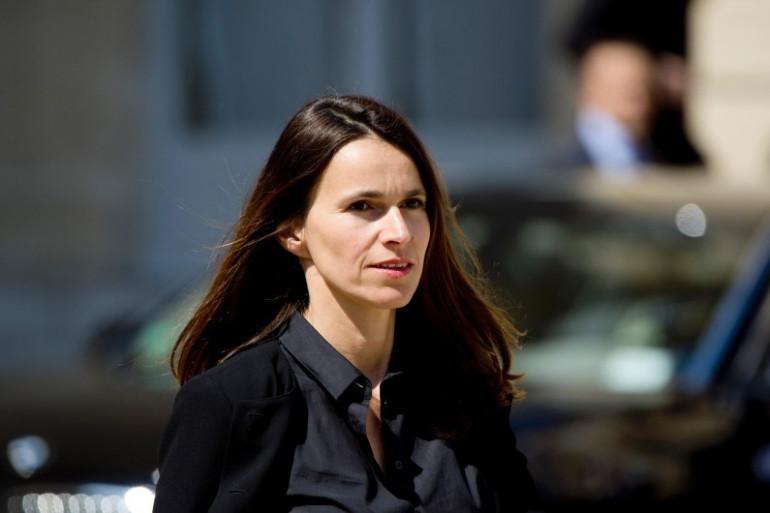 Aurélie Filippetti après un conseil des ministre le 14 mai 2014