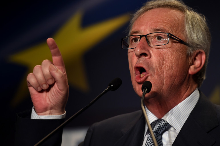 Jean-Claude Juncker, le 17 mai, au Portugal. (archives)