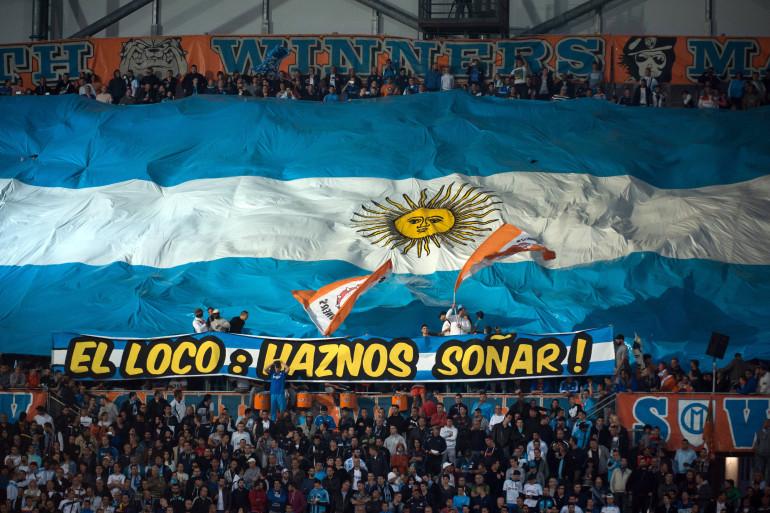 Le public de l'OM a déjà demandé à Marcelo Bielsa de le faire rêver, le 4 mai 2014, face à Lyon