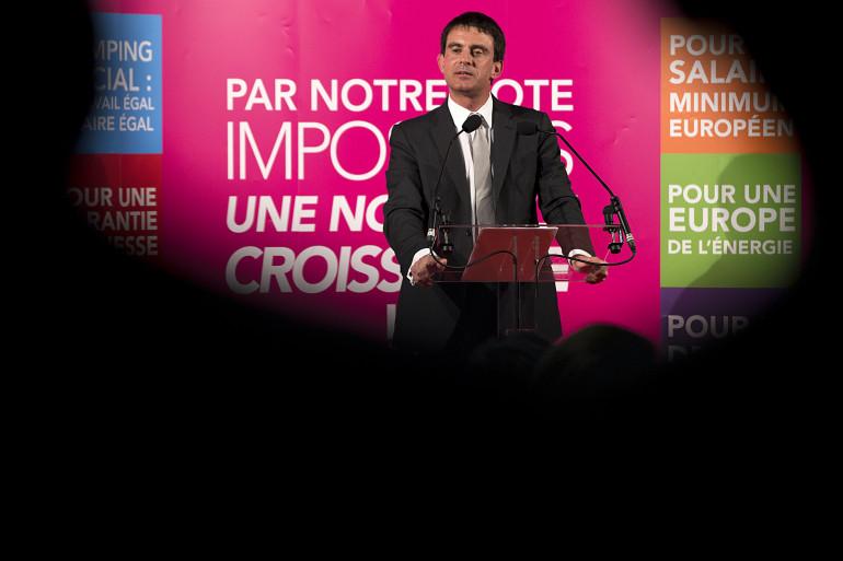 Manuel Valls, le 19 mai 2014, à Evry. (archives)