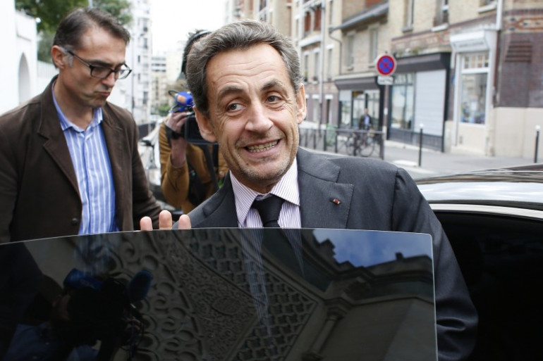 Nicolas Sarkozy le 7 octobre 2013 à Paris