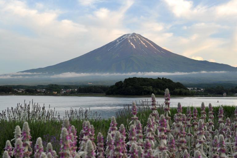 Le mont Fuji, au Japon.