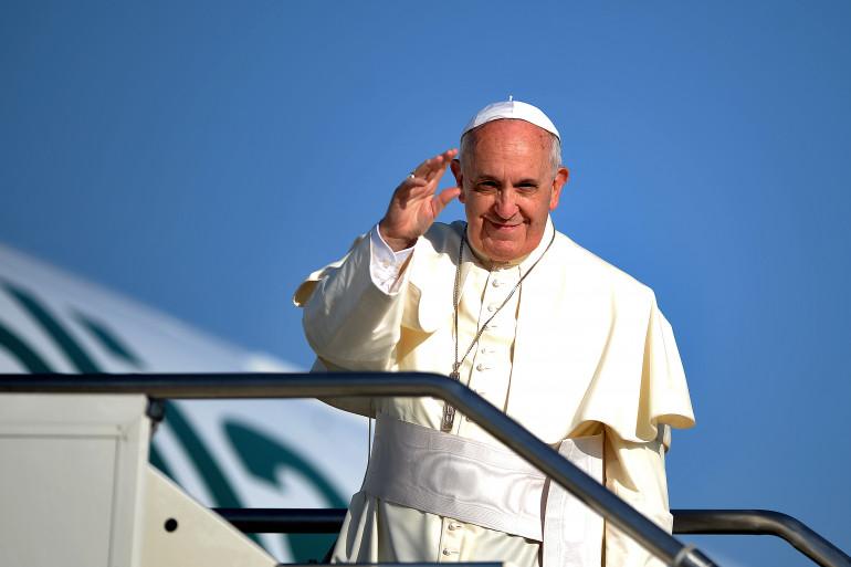 Le Pape François avant son départ pour la Jordanie