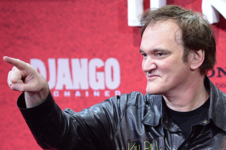 Le réalisateur Quentin Tarantino lors de la présentation de son film Django Unchained à Berlin en janvier dernier.