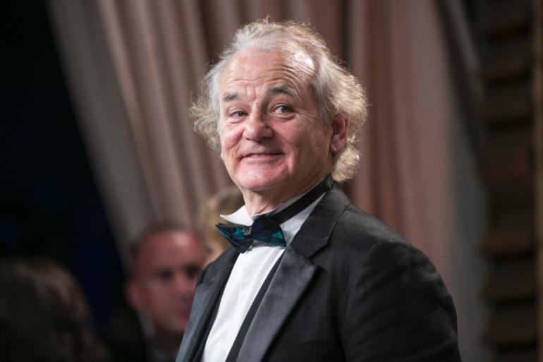 Bill Murray à la fête des Oscars de Vanity Fair à Hollywood le 2 mars 2014. (archives)