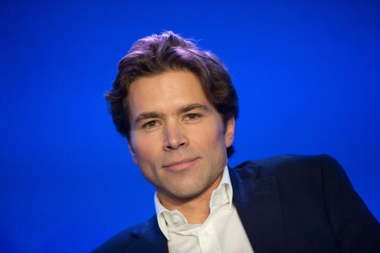Le cofondateur de la Droite forte Geoffroy Didier au siège de l'UMP le 6 octobre 2012. (archives)