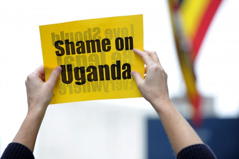 Une manifestation avait déjà eu lieu à New York contre les lois homophobes en Ouganda en 2009.