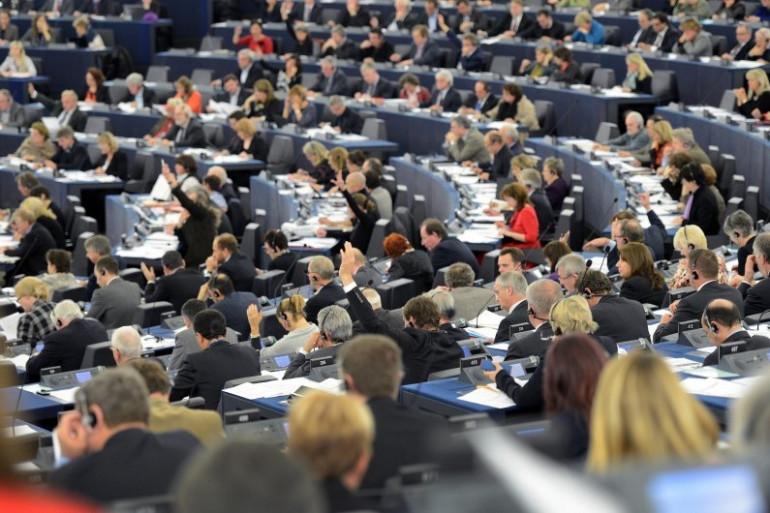 Les eurodéputés siègent au Parlement européen de Strasbourg (archives)
