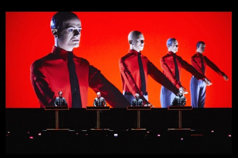 Kraftwerk a donné un concert en 3D à la fin des Nuits Sonores dimanche 1er juin 2014