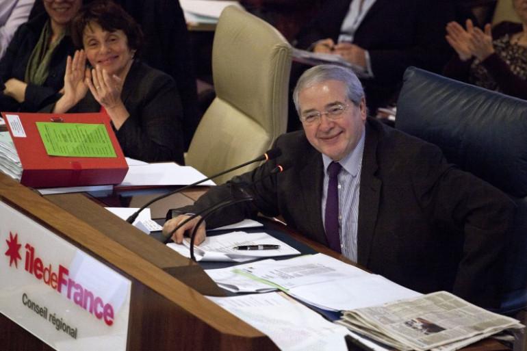 Jean-Paul Huchon le 20 décembre 2012