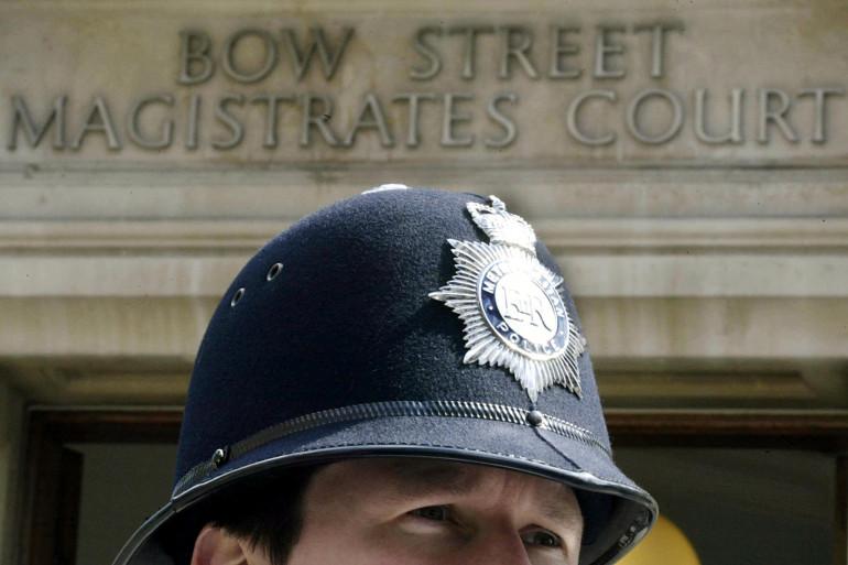 Officier de police britannique, à Londres, en mai 2003. (archives)