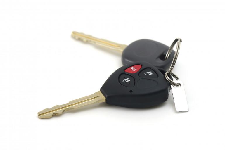 Des clés de voiture
