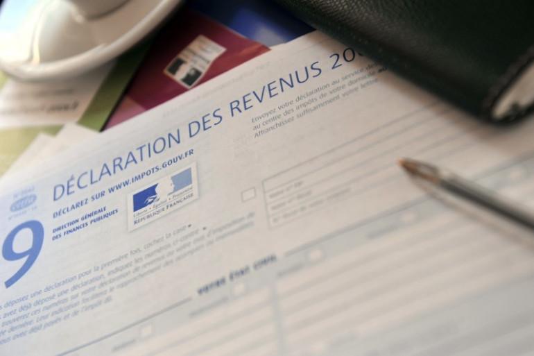 Une fiche de déclaration d'impôts (illustration)