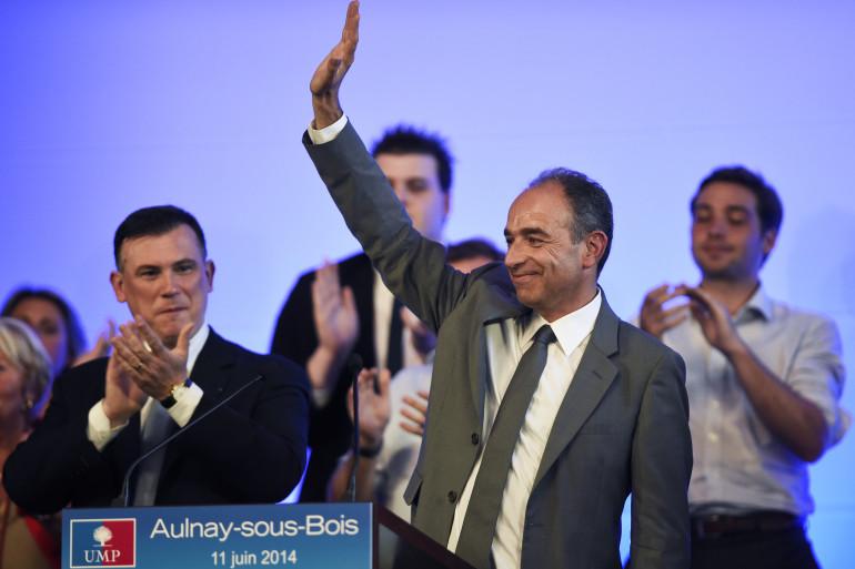 Jean-François Copé lors d'un meeting à Aulnay-sous-Bois mercredi 11 juin 2014