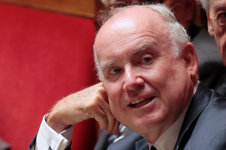 Dominique Bussereau, l'ancien ministre des Transports, le 3 juin 2013 à l'Assemblée nationale.