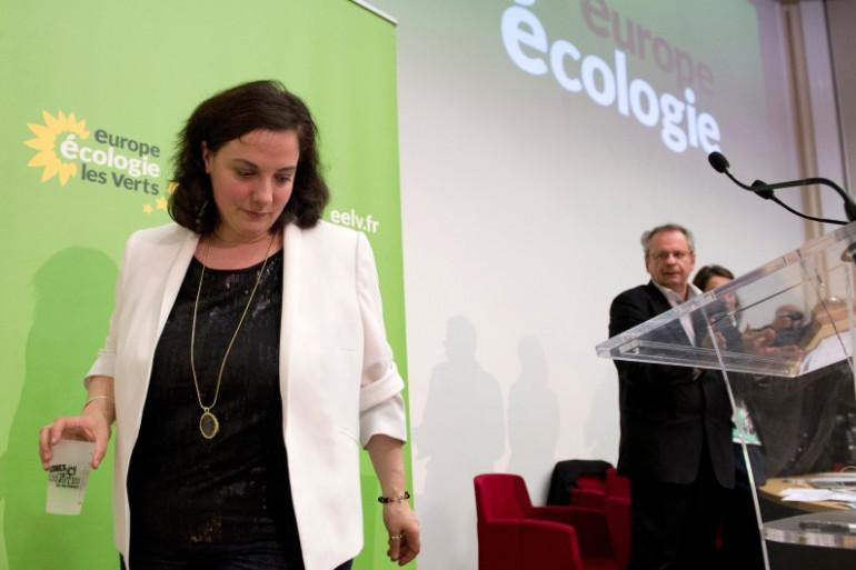 Emmanuelle Cosse lors du conseil fédéral d'EELV en avril 2014 à Paris (image d'illustration).