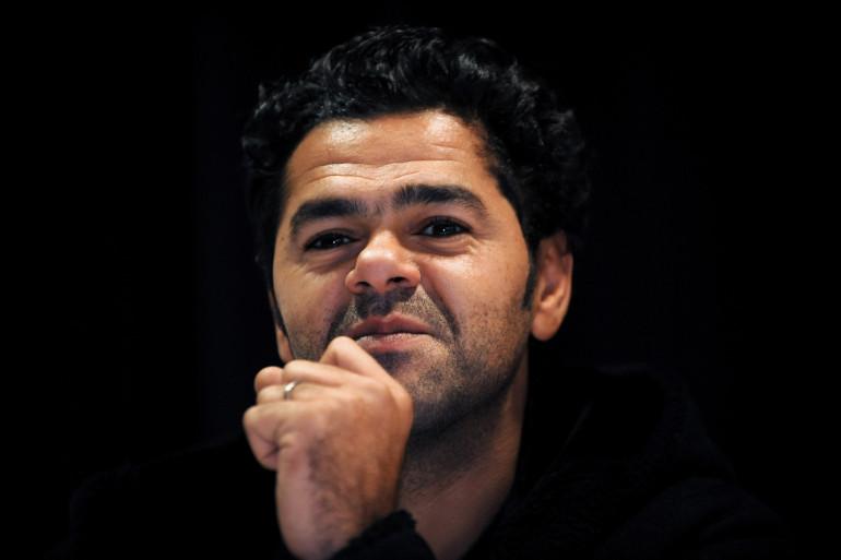 """Jamel Debbouze en conférence de presse pour """"La marche"""" en novembre 2013"""
