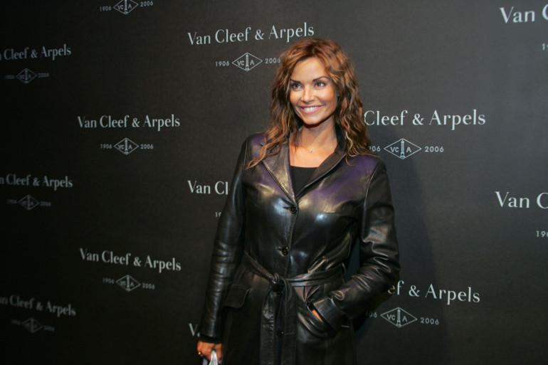 L'actrice Ingrid Chauvin en 2006 (Archives)