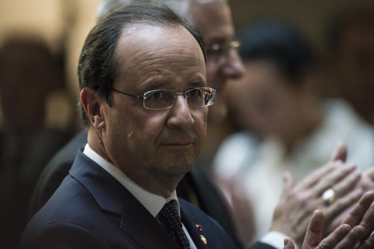 François Hollande à Andorre, le 12 juin 2014.