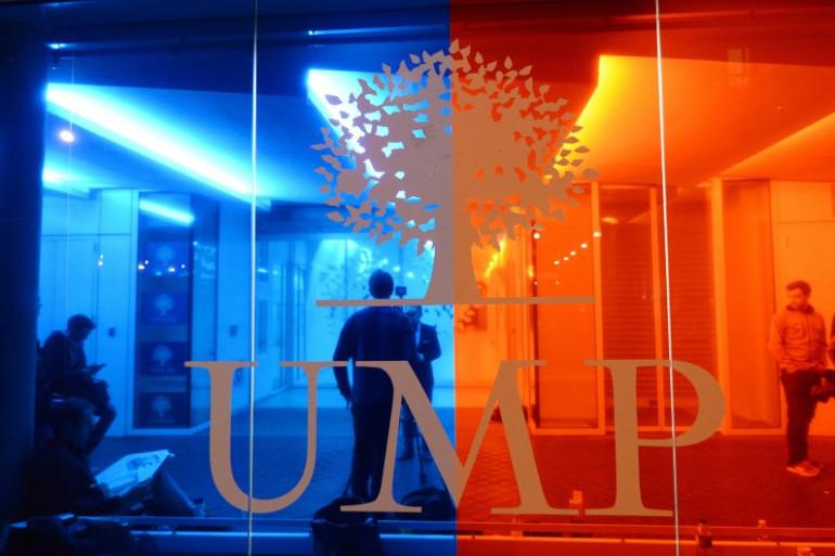 Le siège de l'UMP, à Paris