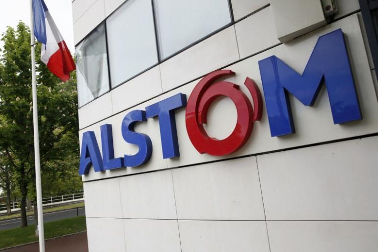 Le siège du groupe Alstom à Levallois-Perret, le 27 avril 2014.