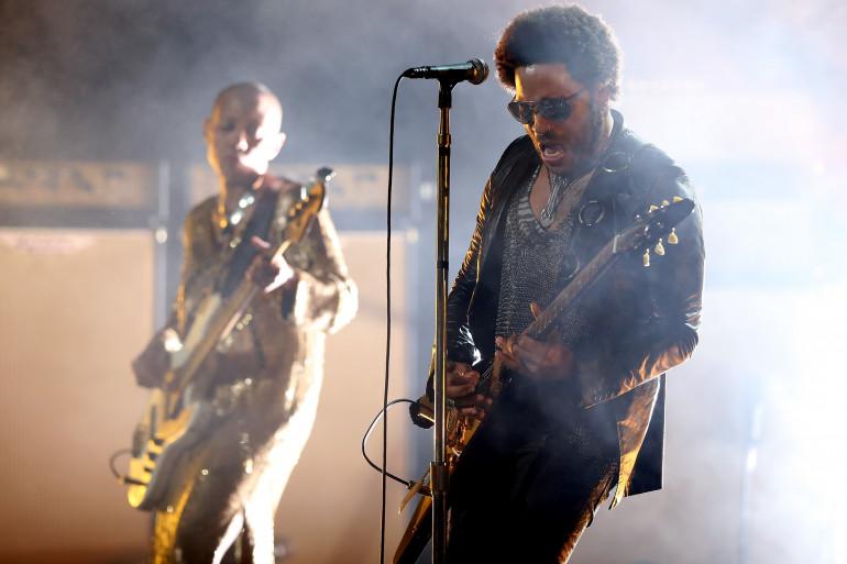Lenny Kravitz à New York en août 2013