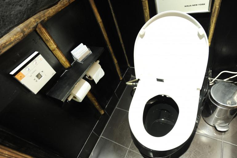 Des toilettes (illustration)