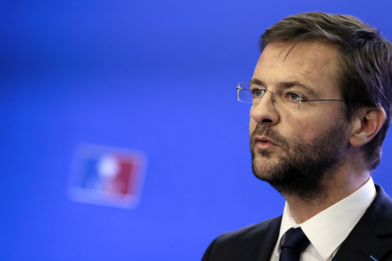 Jérôme Lavrilleux lors d'une conférence de presse au siège de l'UMP en novembre 2012 (archive).