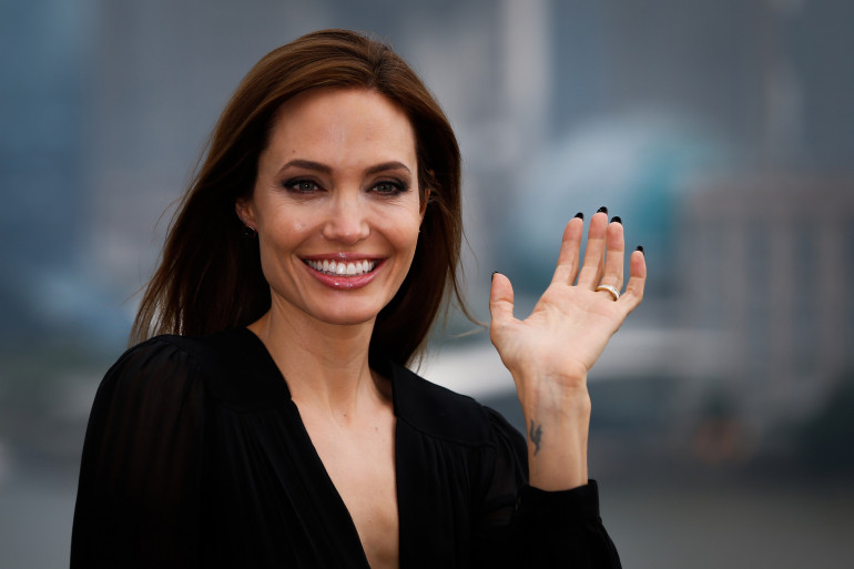 L'actrice Angelia Jolie le 3 juin 2014