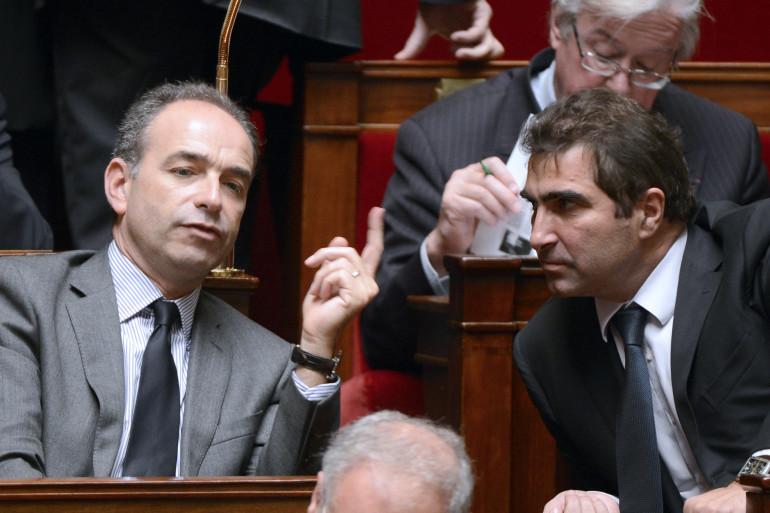 Jean-François Copé et Christian Jacob, les deux derniers présidents du groupe UMP à l'Assemblée nationale
