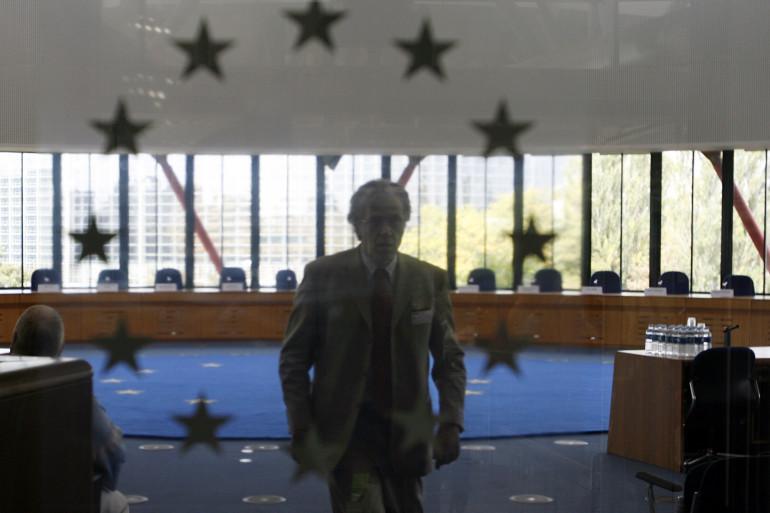 La Cour européenne des droits de l'homme à Strasbourg (Illustration)