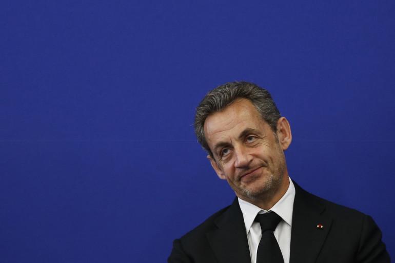Nicolas Sarkozy à Nice le 10 mars 2014