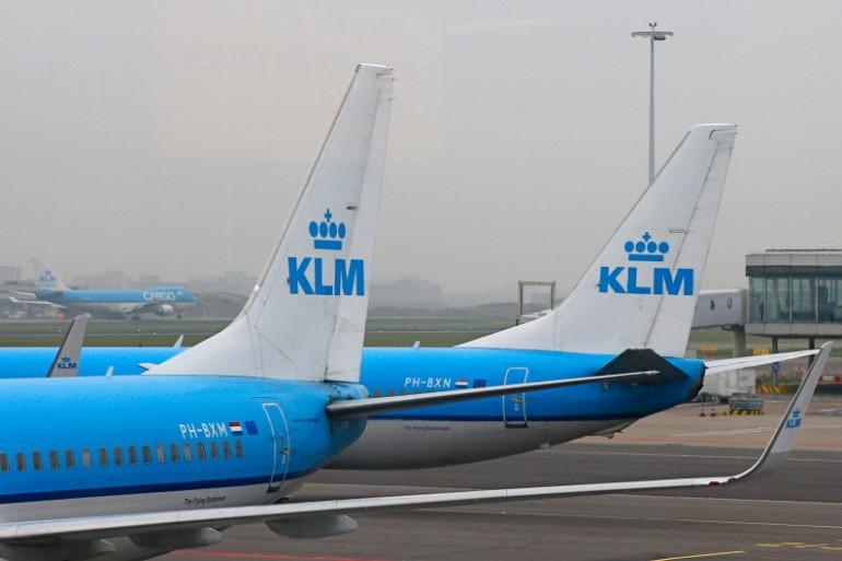 Des avions KLM le 17 novembre 2012 (illustration)