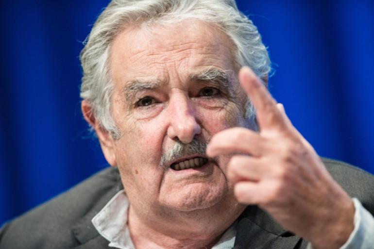 Le président de l'Uruguay Jose Mujic lors d'un discours en mai 2014 à Washington.
