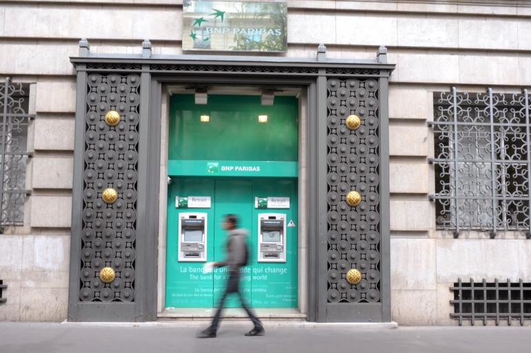 Une agence BNP Paribas à Paris (Illustration)