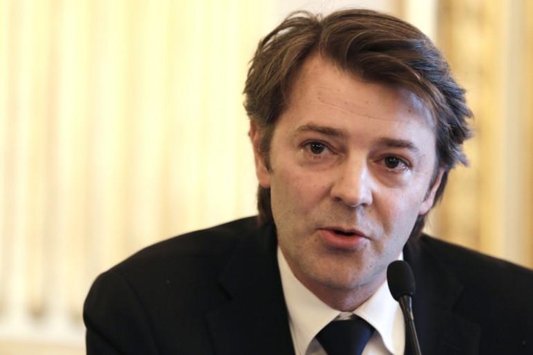 François Baroin à Paris en avril 2013 (archives).