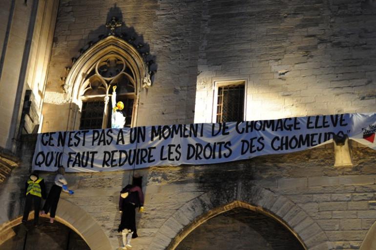 Le Palais des Papes à Avignon le 4 juillet 2014