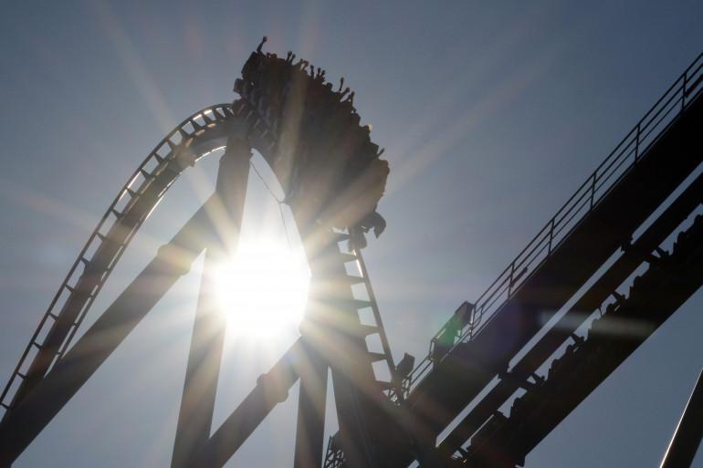 Des montagnes russes (photo d'illustration)