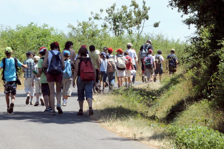 Une colonie de vacances (image d'illustration)