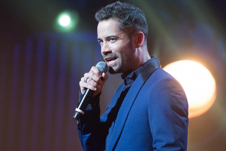 Le chanteur Emmanuel Moire