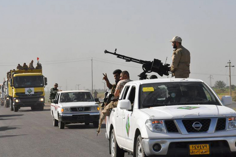 Des forces irakiennes à Samarra (illustration)