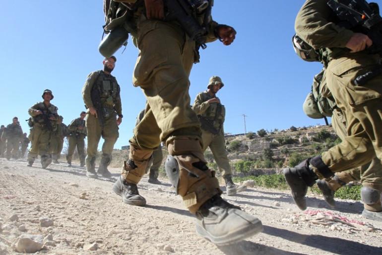 Des soldats israéliens à Hébron en juin 2014 (archives).