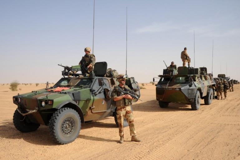 Des soldats français au Mali dans le cadre de l'opération Serval en février 2013 (archives).